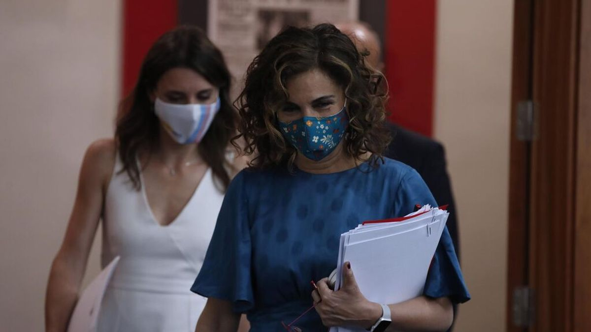 La portavoz del Gobierno, María Jesús Montero