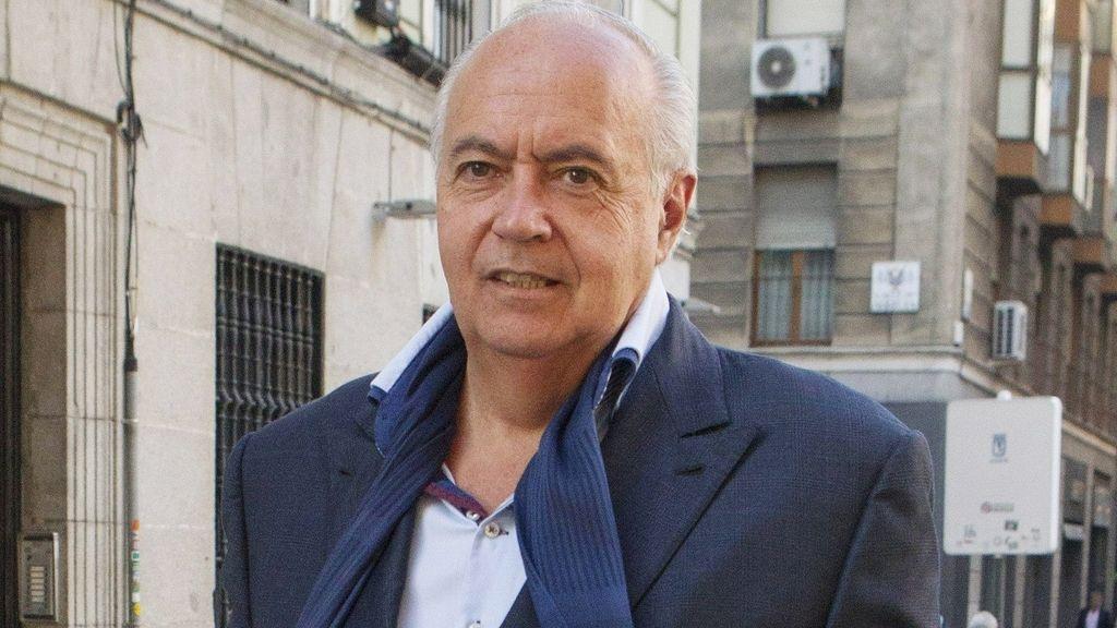 José Luis Moreno, trasladado a la comisaría de Moratalaz tras el exhaustivo registro de su productora