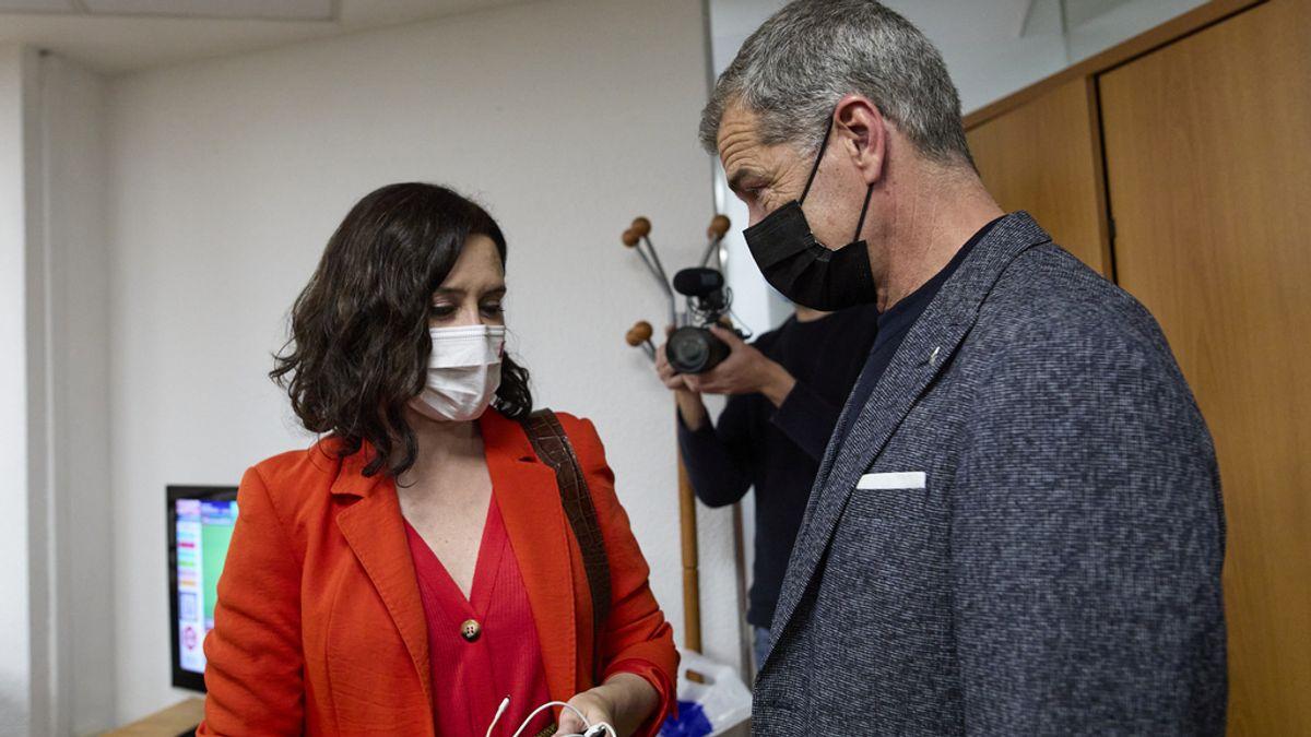 MADRID.-Ayuso sitúa a Toni Cantó al frente de la Oficina del Español, un nuevo departamento de la Comunidad de Madrid