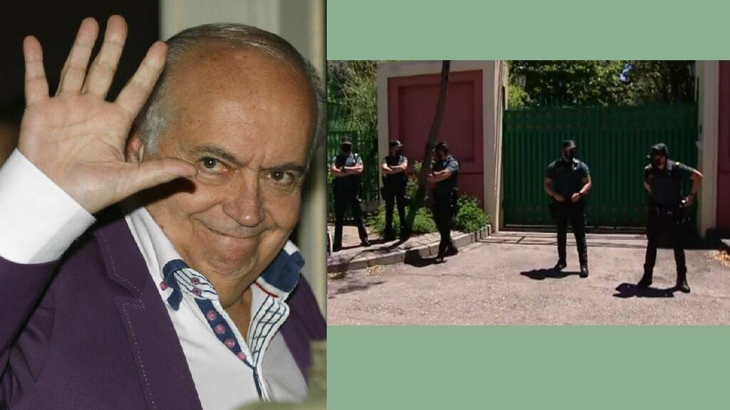 """La casa de José Luis Moreno, """"reventada"""" tras el registro: lo que buscó la Guardia Civil"""