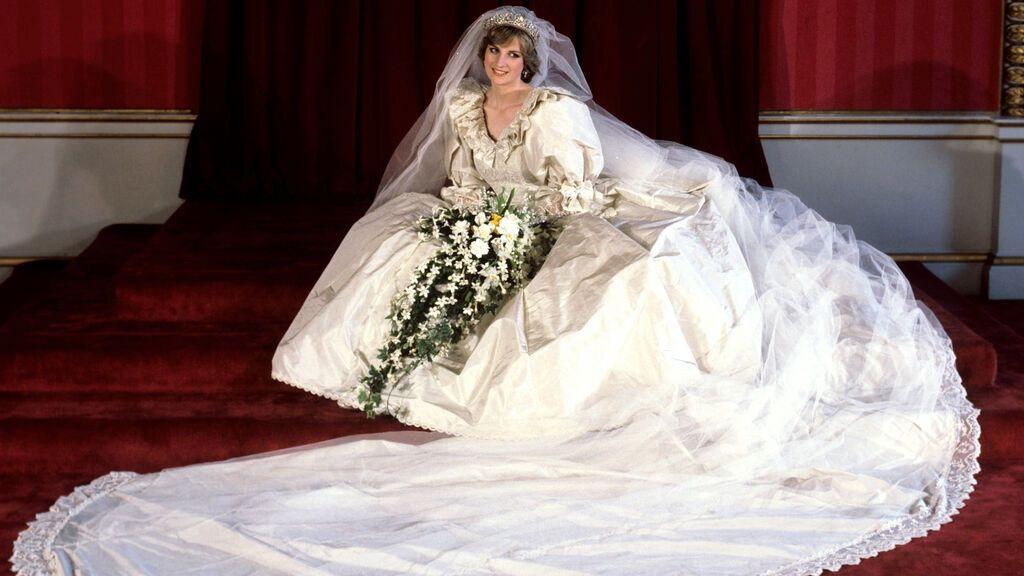 Diana, en su boda