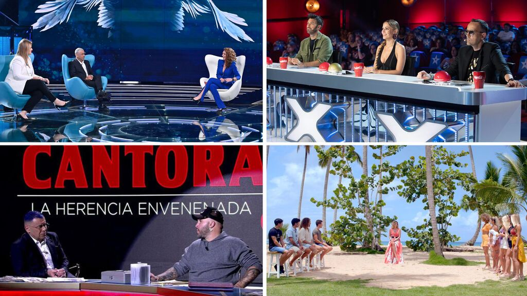 Mediaset España firma su undécima victoria de grupo consecutiva y con el mejor resultado de Telecinco desde la temporada 2009-2010