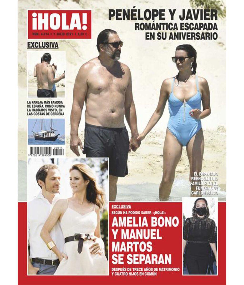 La revista ¡Hola! anuncia la separación de Manuel Martos y Amelia Bono