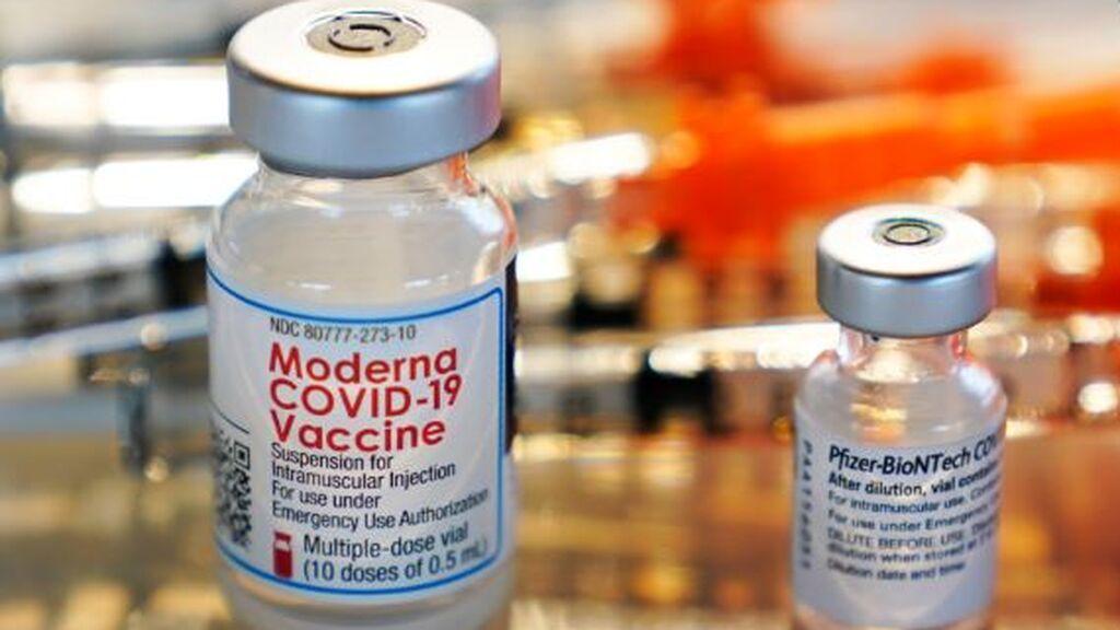Conoces los efectos secundarios de las vacunas contra el  covid de Pfizer y Moderna