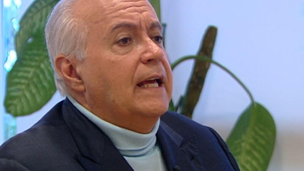 José Luis Moreno, primera noche en comisaría
