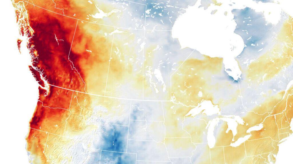 ¿Es culpa del cambio climático la extraordinaria ola de calor de Canadá?
