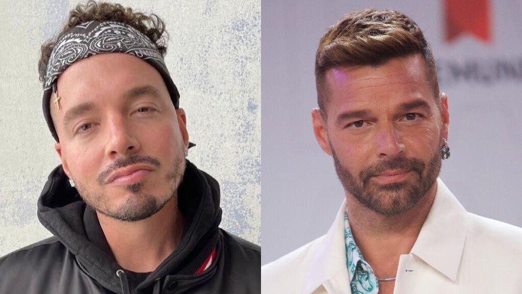 """J Balvin muestra su apoyo a Ricky Martin tras una oleada de comentarios homófobos: """"Yo me casaría contigo"""""""