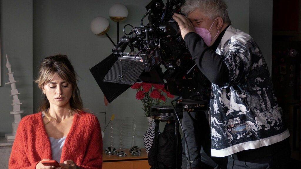 Rodaje de 'Madres paralelas' (2022), de Pedro Almodóvar