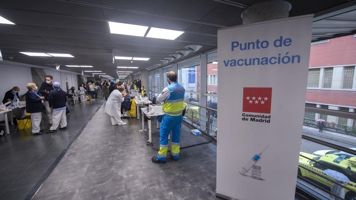 Cvirus.- El Wizink Center comienza este jueves a vacunar en horario nocturno
