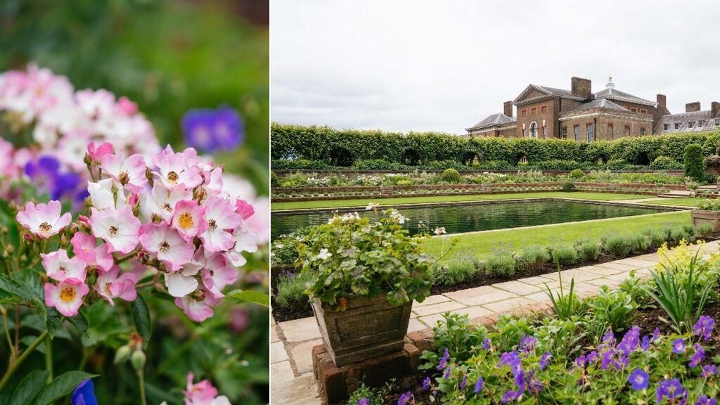 Los jardines de Kensington Palace, decorados en honor a Diana