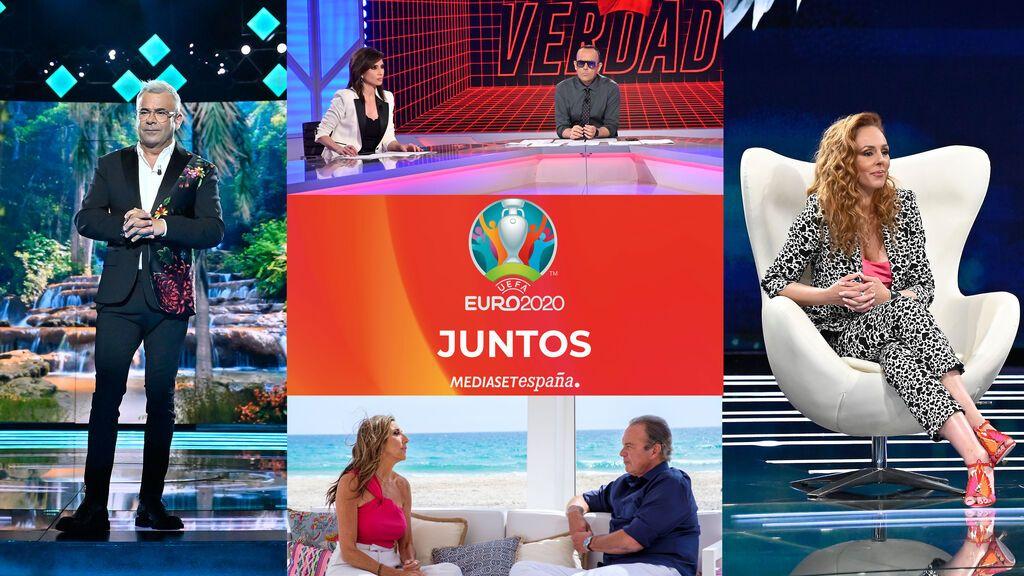 Goleada de Mediaset España en junio con hat-trick en total individuos, target comercial y jóvenes y con Telecinco como pichichi