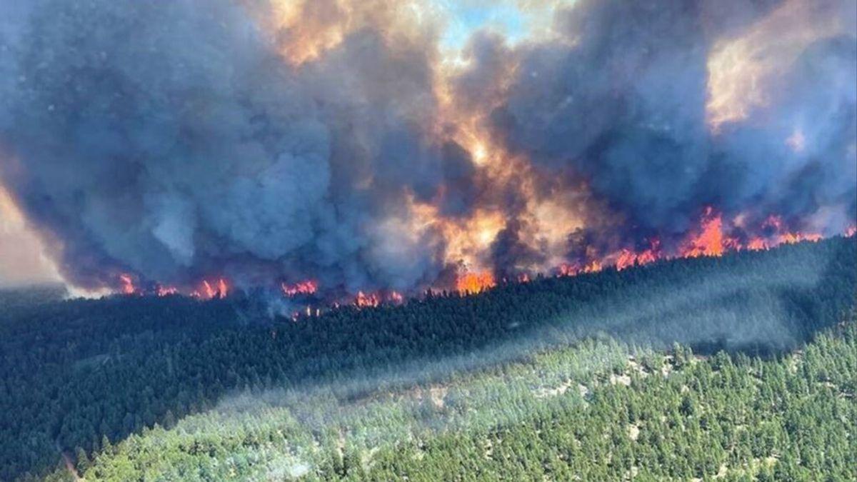 Situación infernal en Canadá: evacuaciones por los incendios en Lytton tras alcanzar los 50 grados
