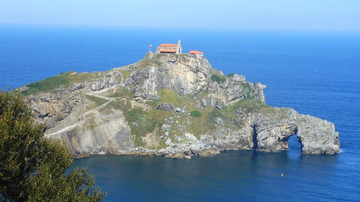 Imagen de la ermita de San Juan de Gaztelugatxe, Bizkaia
