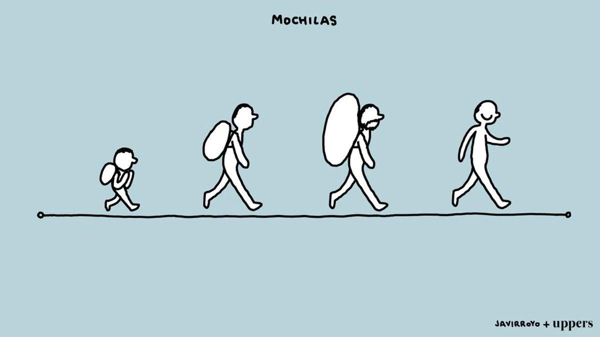 """La nueva viñeta de Javirroyo: """"Mochilas"""""""