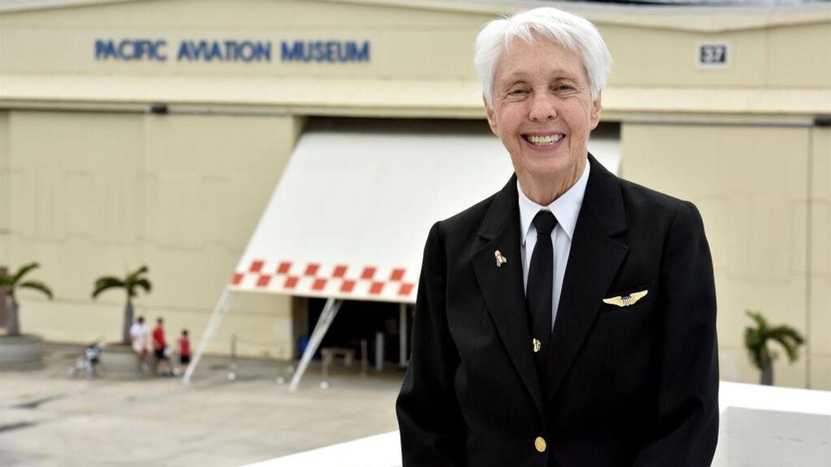Wally Funk, una de las mujeres del Mercury 13, cumplirá a los 82 años su sueño de ir al espacio gracias a Jeff Bezos