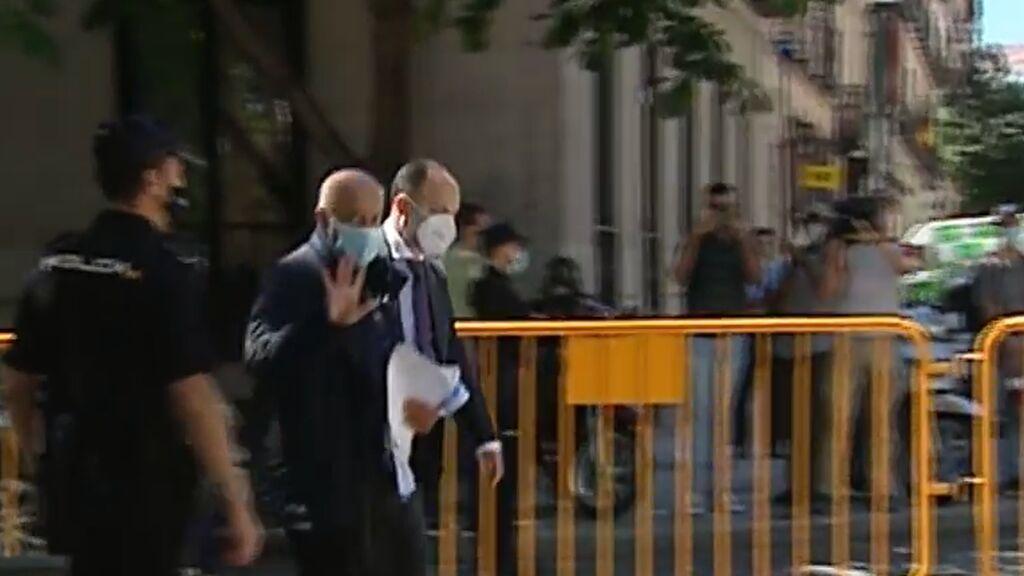 José Luis Moreno, libre, a la espera de pagar su fianza