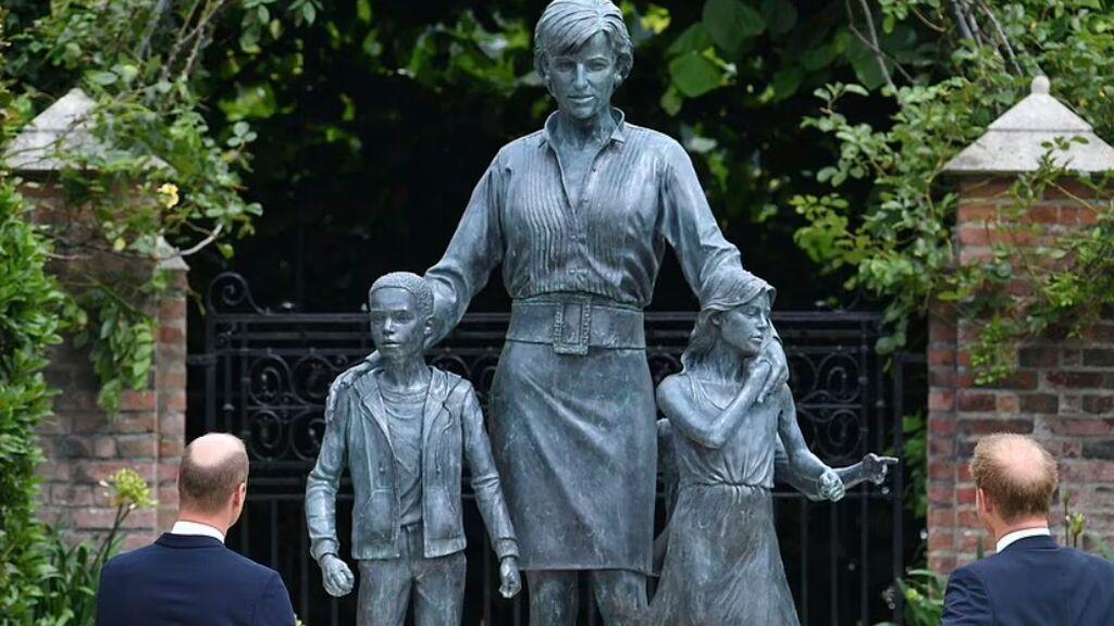 Diana vuelve a juntar a sus hijos