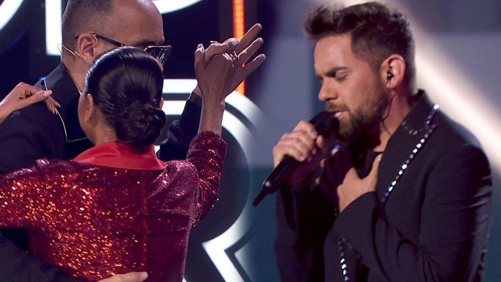La actuación de Álex Escribano en la final