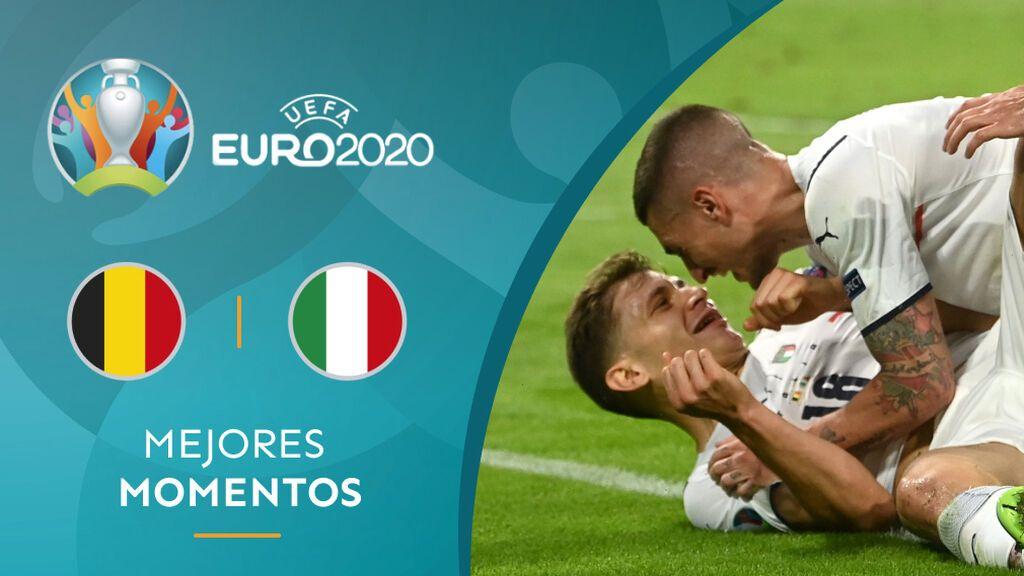 Italia se deshace de Bélgica y jugará contra España las semifinales de la Eurocopa (1-2)