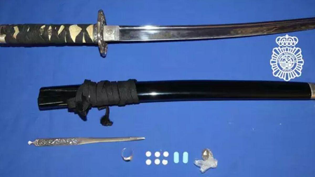 Dos detenidos por participar en una pelea con una catana y una barra de hierro en Salamanca