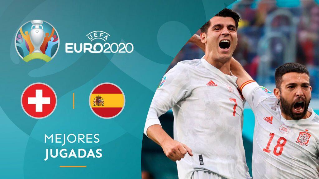 Jordi Alba abre la lata con fortuna: España golpea primero en los cuartos de final (0-1)