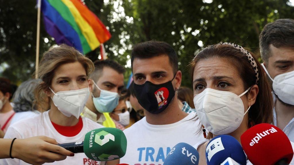 Marcha del Orgullo en Madri:  con aforo limitado  sin carrozas. pero con el msimo espiritu reivindicativo y festivo