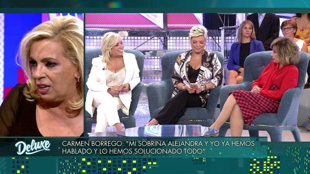Carmen Borrego habla de las Campos