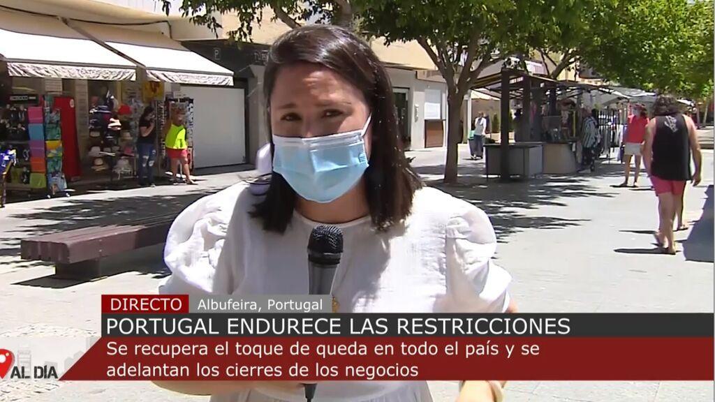 Portugal impone el toque de queda en un intento por poner freno al avance de la pandemia