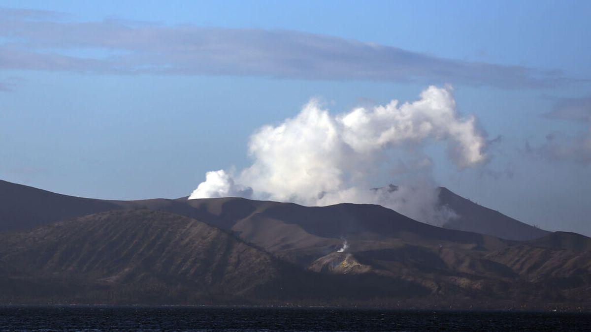 La erupción del volcán Taal deja al menos diez niños intoxicados en Filipinas