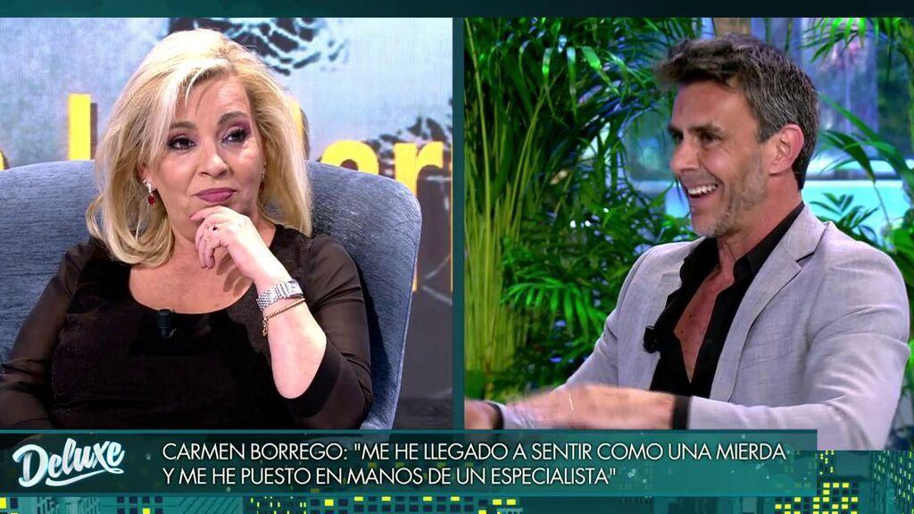 El reencuentro de Carmen Borrego y Alonso Caparrós