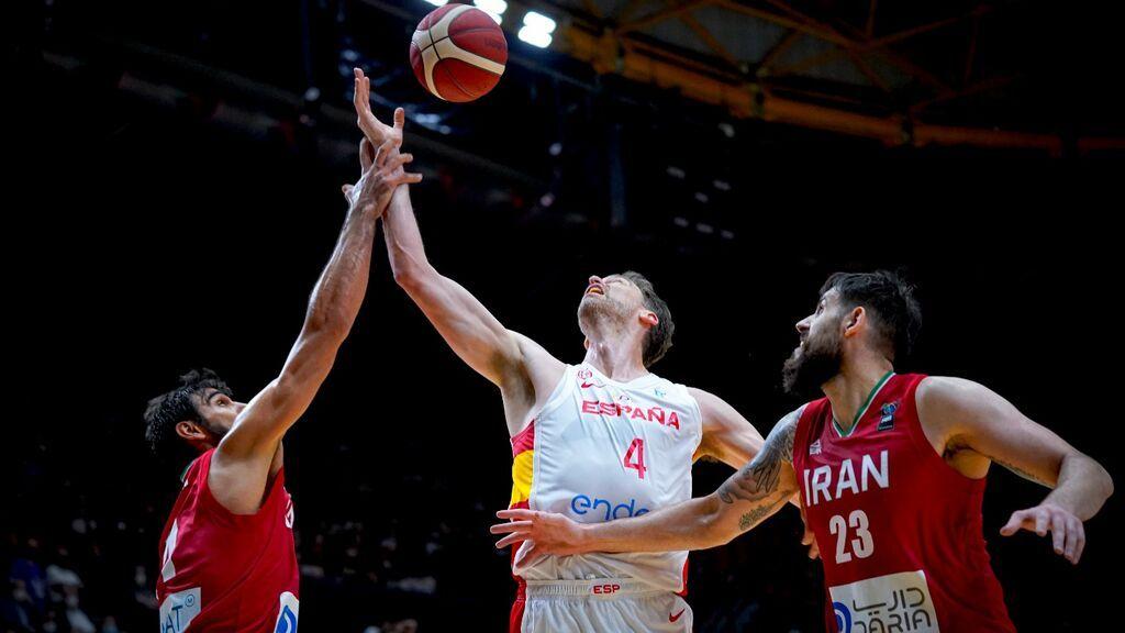 El retorno de Pau Gasol a la Selección Española: Plácida victoria ante Irán antes de los Juegos Olímpicos (88-61)