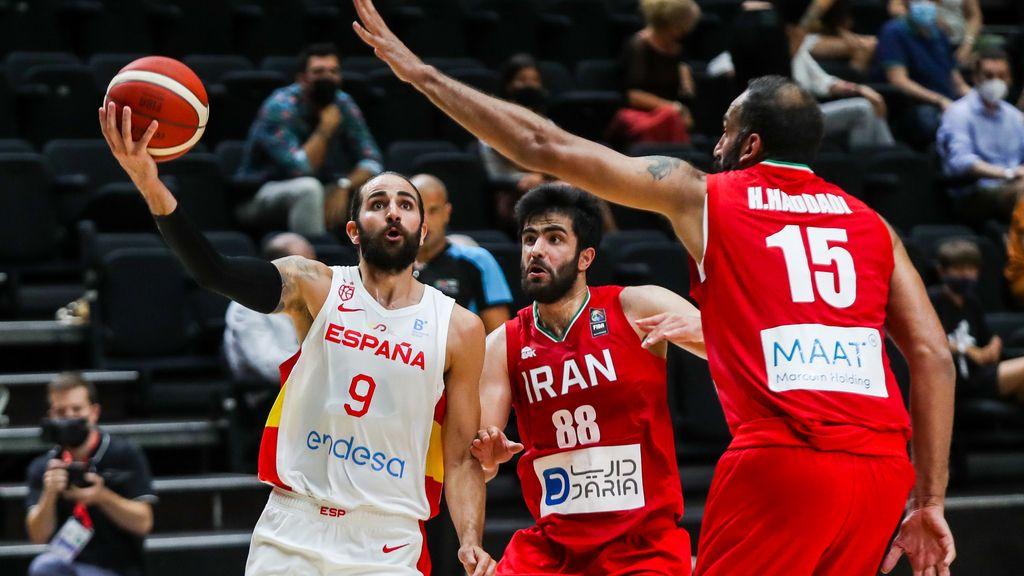 Baloncesto/Selección.- (Previa) España afronta un nuevo test ante Irán en Madrid