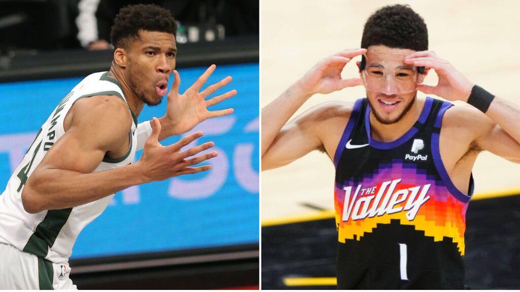 Milwaukee Bucks y Phoenix Suns jugarán las finales de la NBA: Antetokounmpo, duda para el primer partido