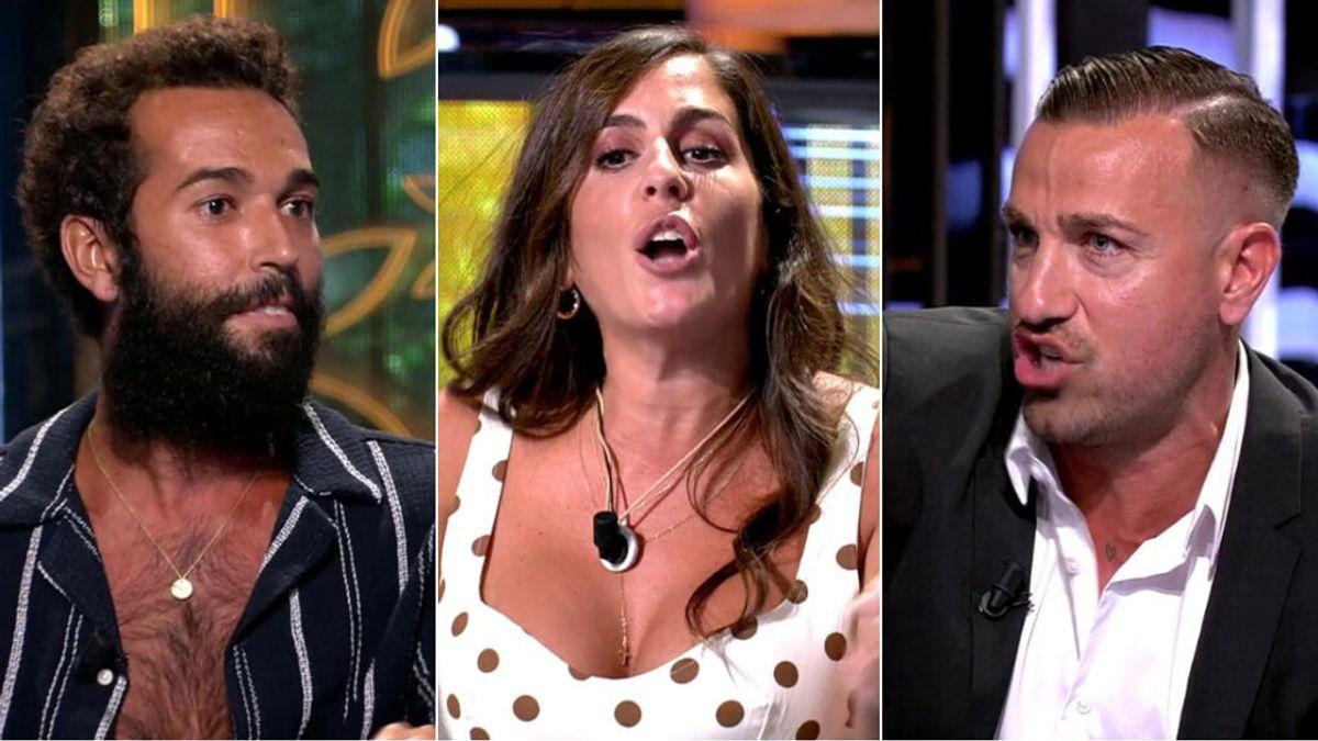 ¡Máxima tensión! Rafa Mora carga contra Omar y Anabel Pantoja arremete con dureza contra él