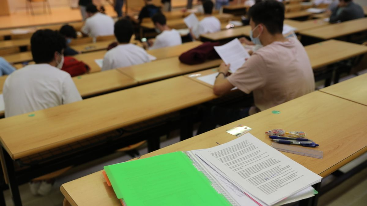Un total de 1.016 estudiantes comienzan este lunes la Evaluación para el Acceso a la Universidas (EvAU) en Aragón