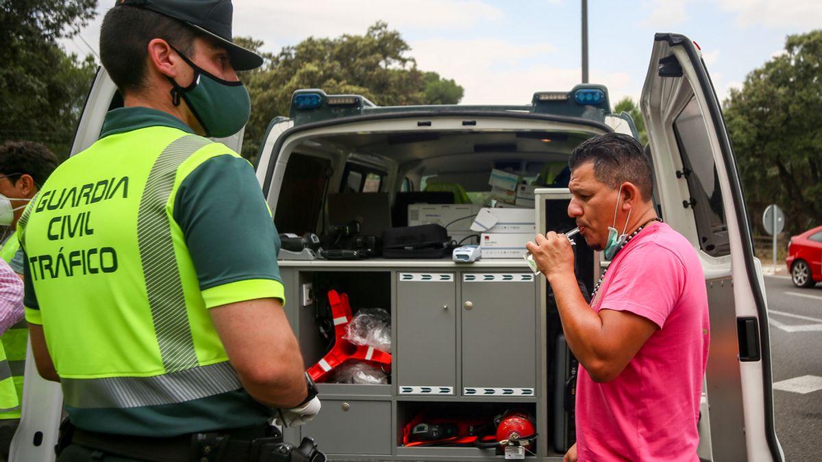 La DGT detecta en una semana a 3.155 conductores bebidos o drogados