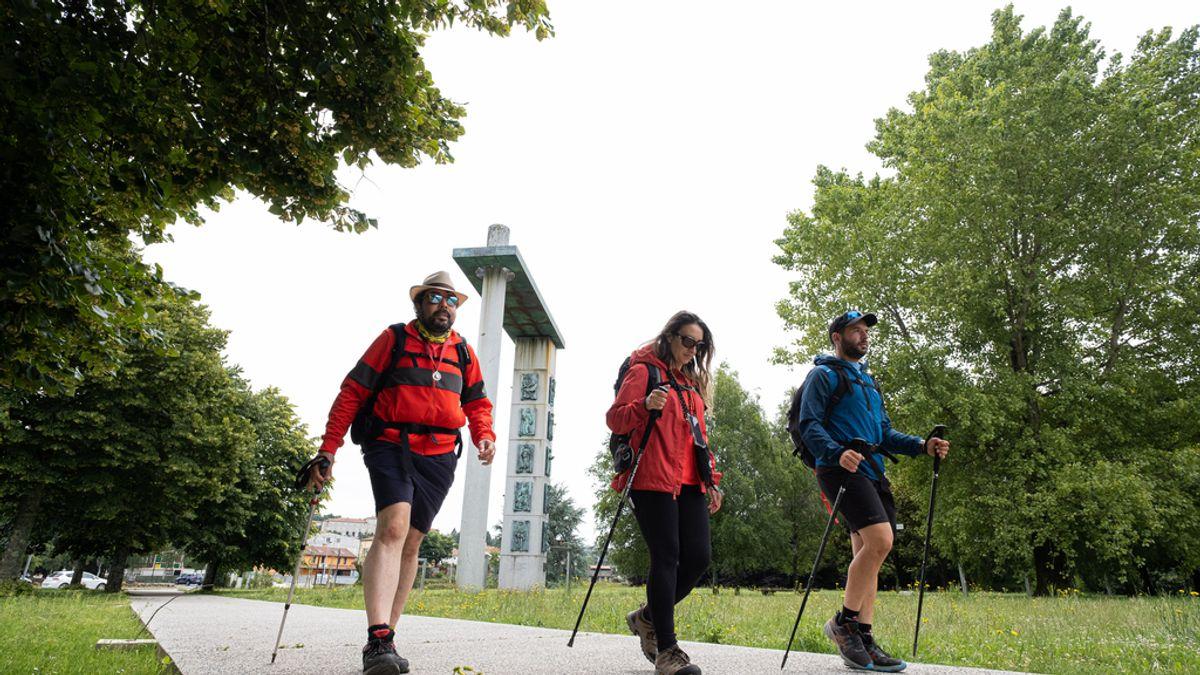 Las credenciales a peregrinos del Camino de Santiago desde Valencia se multiplican por diez en un año
