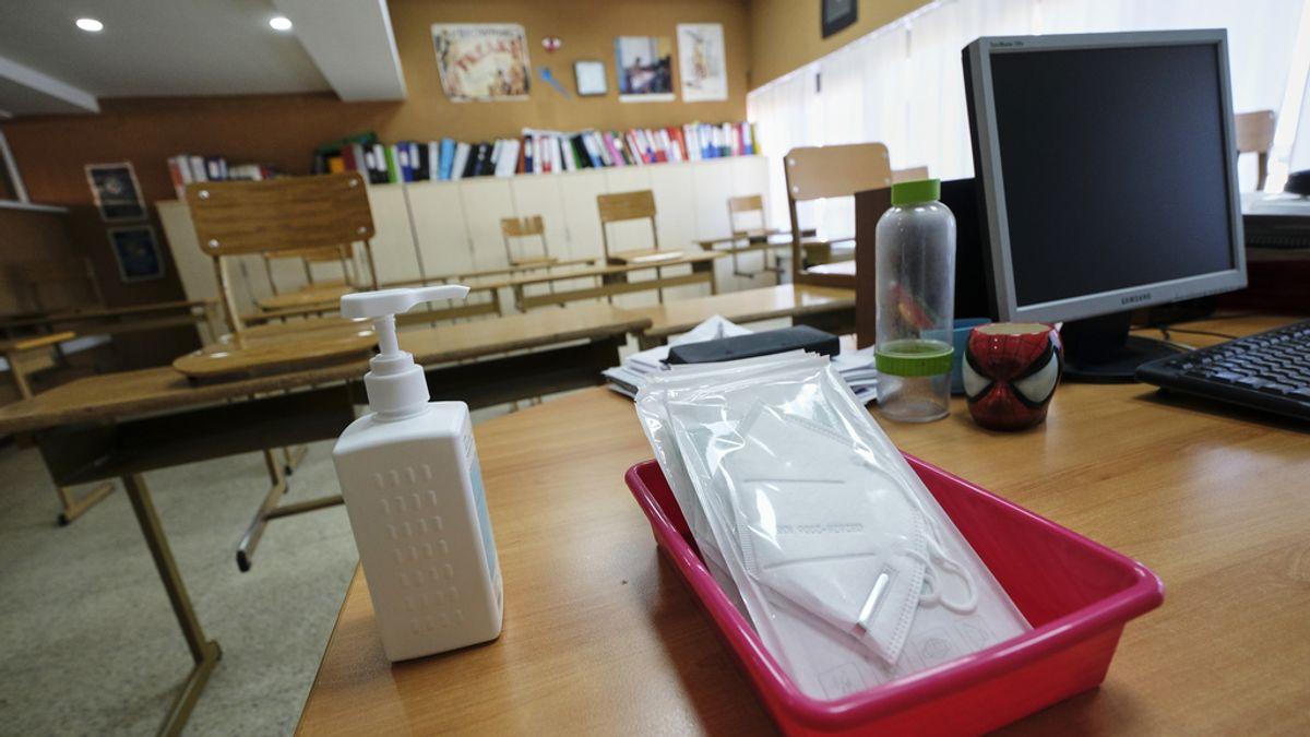 Los casos de paperas, sarampión, rubeola y varicela se reducen a cifras residuales este curso por las medidas antiCovid