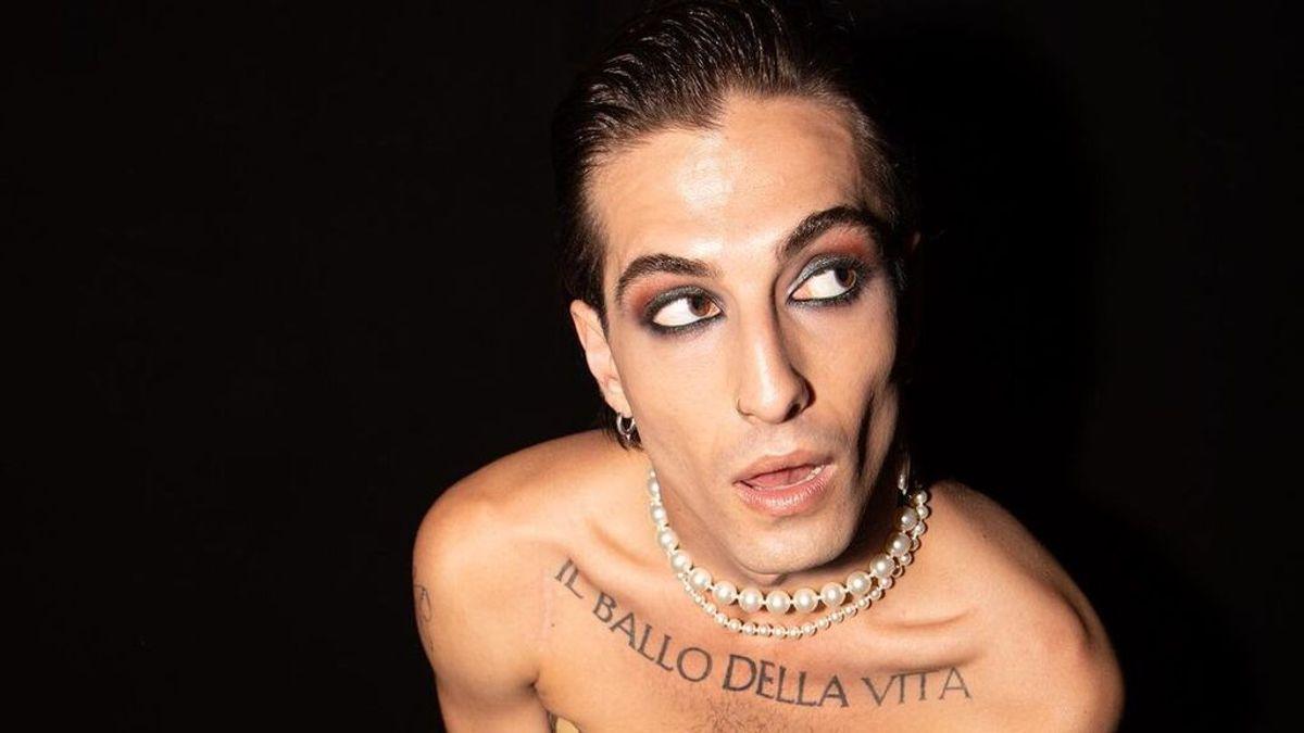 """Damiano David se corta el pelo y revoluciona las redes: """"Lo estaba superando y se ha hecho un mullet"""""""