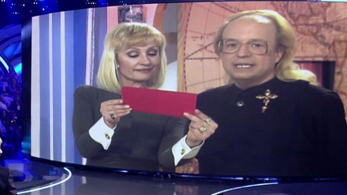 Raffaella Carrá con Rappel, en 'Volverte a ver' (2018)