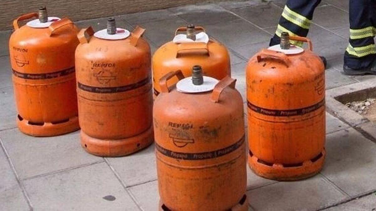 El abandono de botellas de butano en Ceuta preocupa a los bomberos