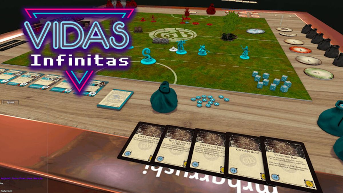 Vidas Infinitas #22: los juegos de mesa sin mesa