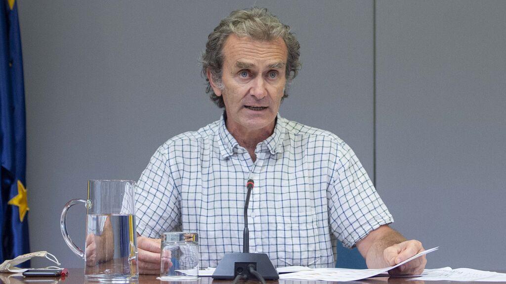 """Simón defiende a los jóvenes: """"Están menos vacunados"""""""