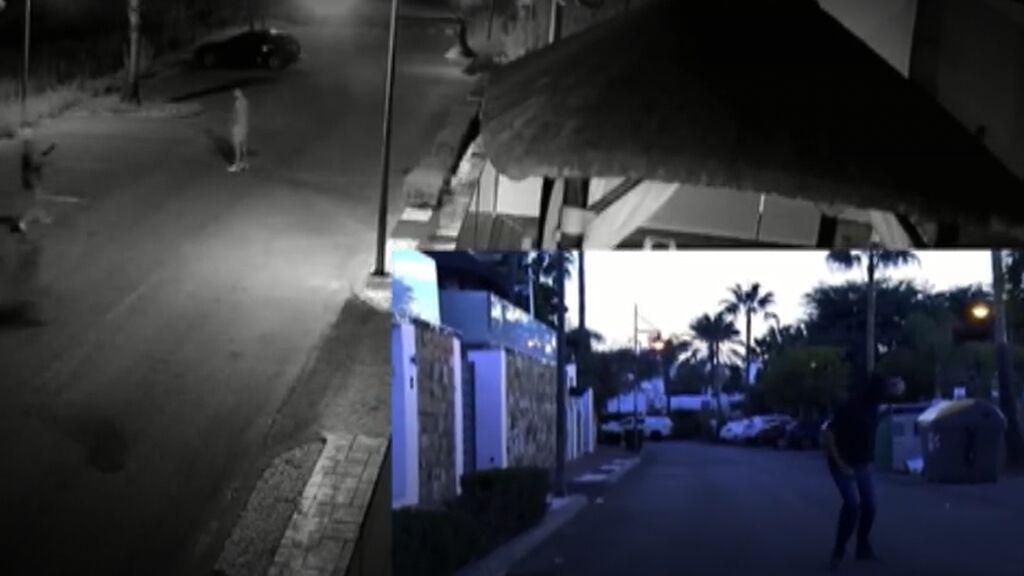 Ejecución en Marbella del narco 'Zocato' grabada por las cámaras de su casa