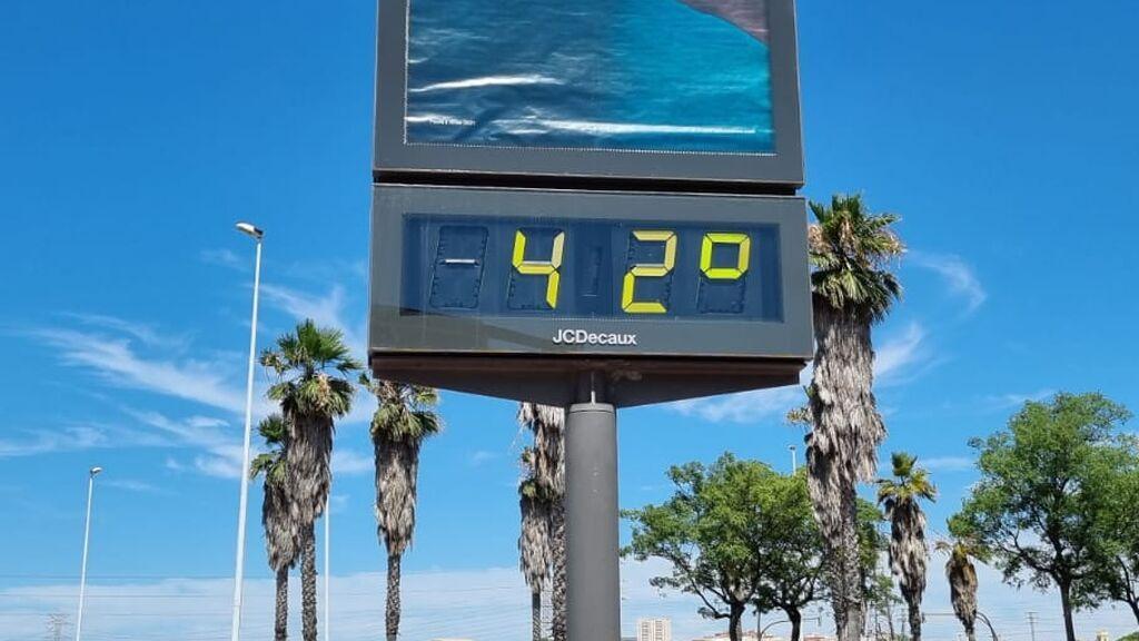 Una ola de calor extremo dispara los termómetros en la Comunidad Valenciana
