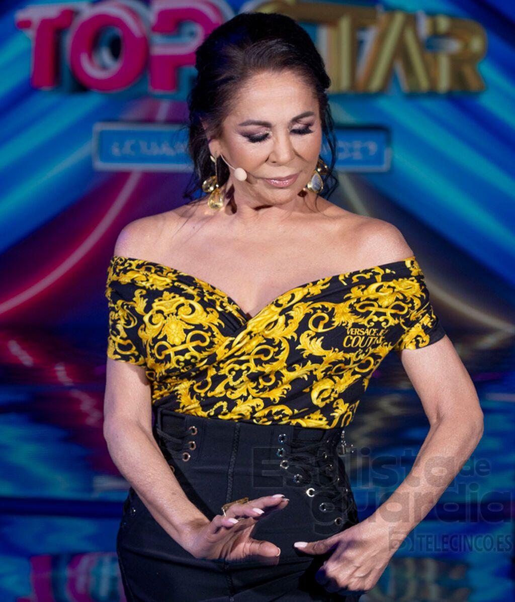 Isabel Pantoja en el segundo programa