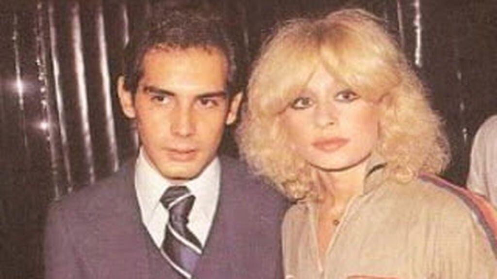Raffaella Carrá con su hermano, Vincenzo, dos años menor