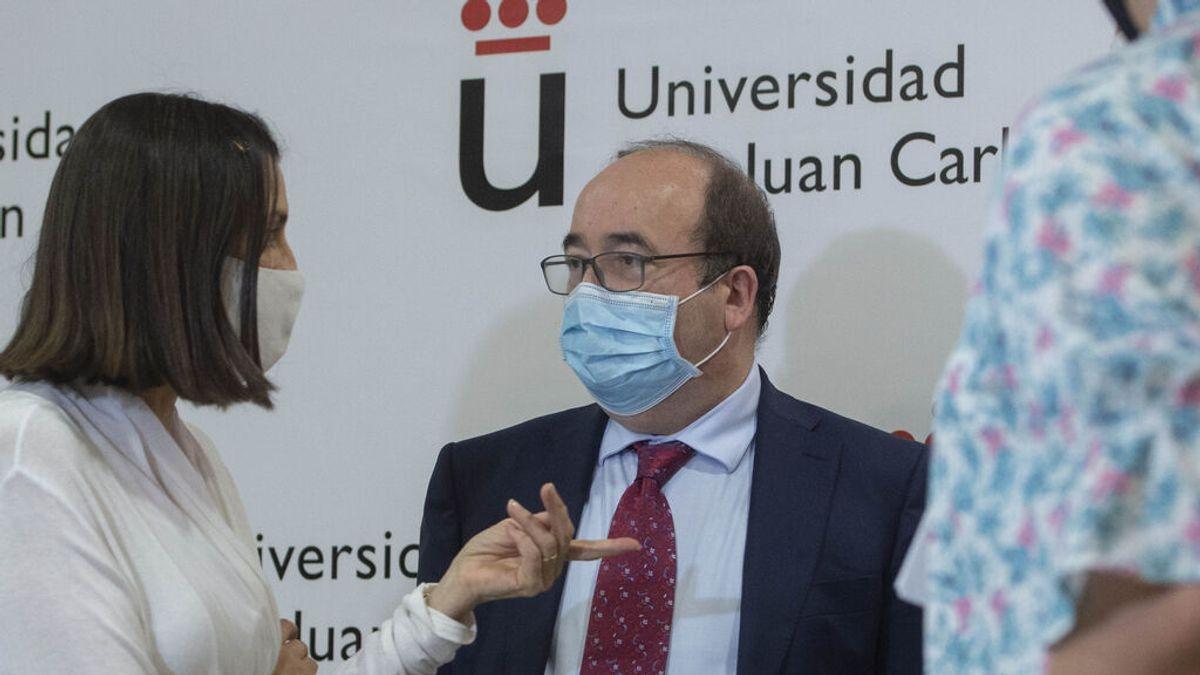 Castilla León pide un toque de queda nacional ya e Iceta contesta un con rotundo no
