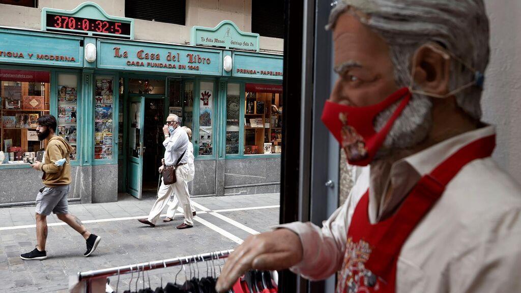 """Pamplona, sin sus fiestas, entona ya un """"Pobre de mí"""" de dos años de duración"""