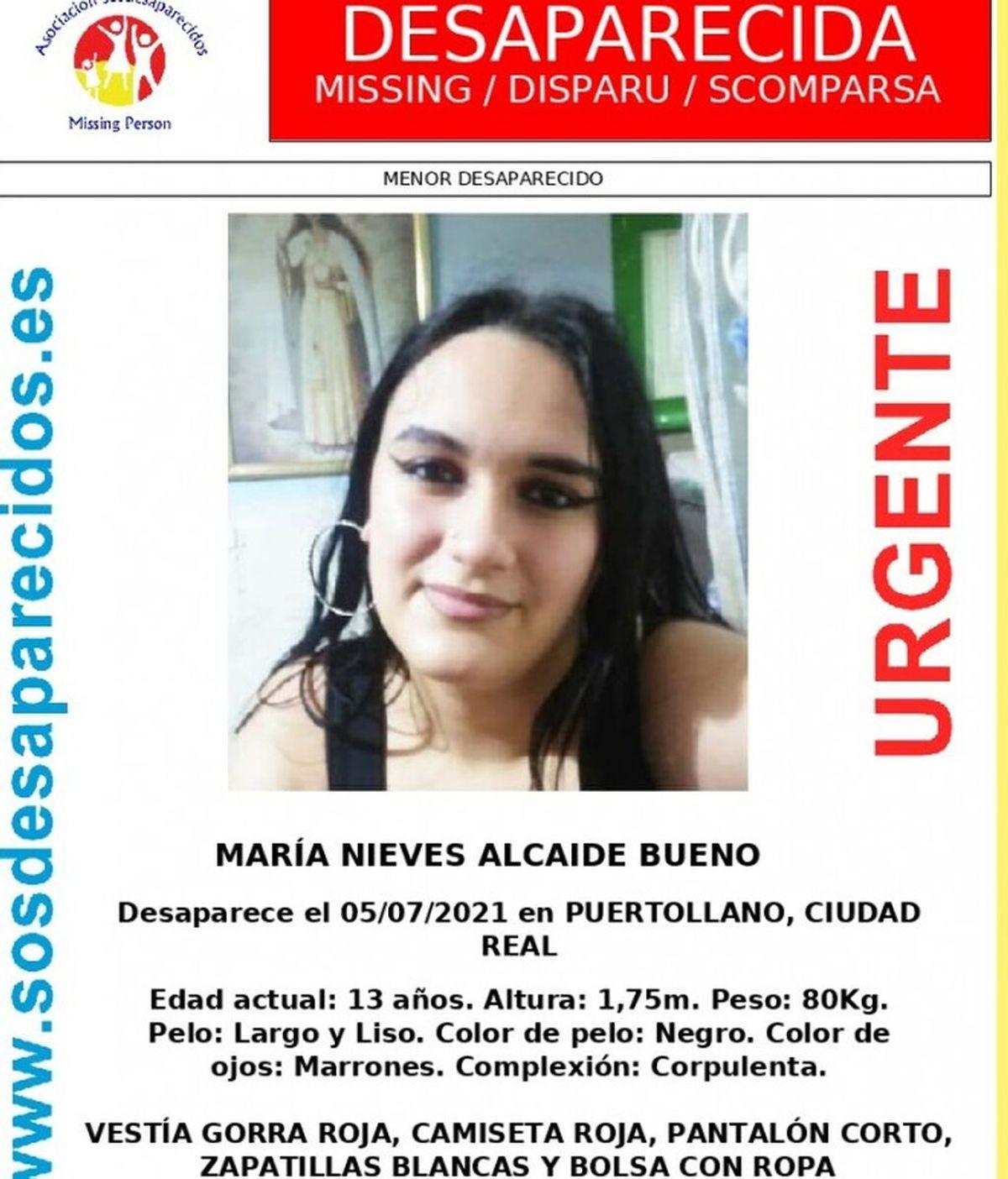 Buscan a una menor de 13 años desaparecida en Puertollano desde el lunes